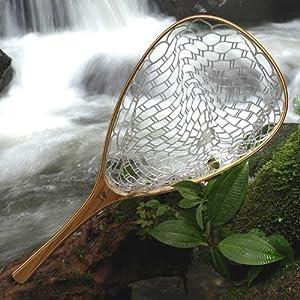 Brodin frying pan float tube ghost landing for Amazon fishing net
