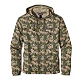 PATAGONIA MEN'S LIGHT & VARIABLE HOODY 27235 (XS, Painted Camo Camp Green)
