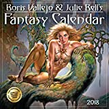 Boris Vallejo & Julie Bell's Fantasy Wall Calendar 2018