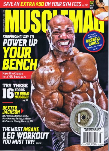MuscleMag International [US] March 2012 (単号)