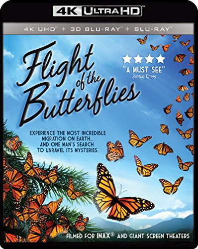 IMAX: Flight Of The Butterflies (4K UHD / 3-D Bluray) [Blu-ray]