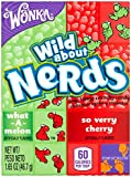 Wonka Nerds, Watermelon and Wild Cherry, 1.65-Ounce Packets (Pack of 36)