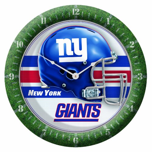 NFL New York Giants Game Time Clock