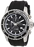 Festina Men's Chronograph Watch F16561/1 with Rubber Strap and Black Dial