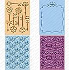Provo Craft Cuttlebug Cricut Companion Embossing Folder Bundle, Sentimental