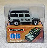 2007 Matchbox Walmart Exclusive Superfast 06 97 Land Rover Defender 110 Mint In Package