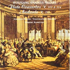 Wolfgang Amadeus Mozart: Flute Concertos Nos. 1 and 2 / Andante, K. 315 (Walter, Dresden Staatskapelle, Blomstedt)