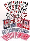 Low Vision Playing Cards  Bundle of 4 Decks