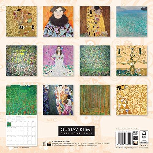 Gustav KLIMT Wall Calendar 2016 (Art Calendar) (Square)