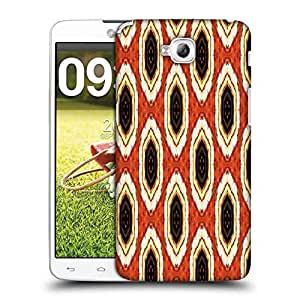 Snoogg Abstract Multicolor Design Designer Protective Phone Back Case Cover For LG G Pro Lite