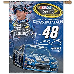 Wincraft Jimmie Johnson 2013 NASCAR Sprint Cup Series Champion 27