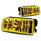 Premium 2pc Fog Lights Fit 92-98 BMW E36/M3 3 Series OEM Fog Lights - Yellow Lens - Light bulb type H1 12V 55W. (1 Pair includes both Driver & Passenger Sides.)