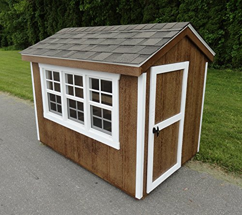 Extra Large 6' x 4' Chicken Coop - Multi-Chicken Hardwood Coop- Amish Made USA (Large Chicken Coops Amish Made compare prices)