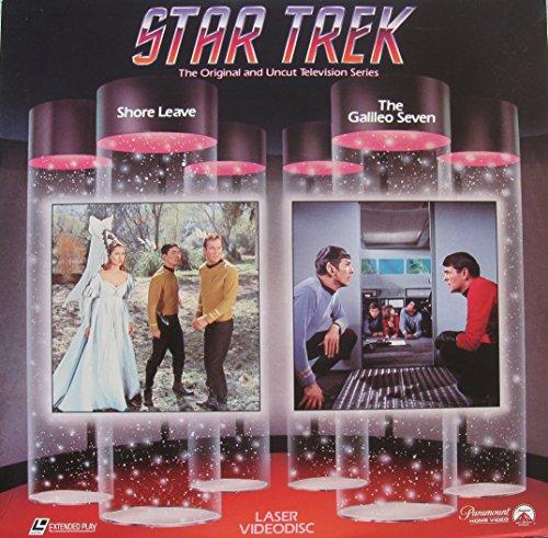 Laserdisc of Star Trek The Original Series 2 Uncut Episodes, Shore Leave & The Galileo Seven. Episode 17 & 14. 1966 Television series. (The Originals Season 2 Episode 7 compare prices)