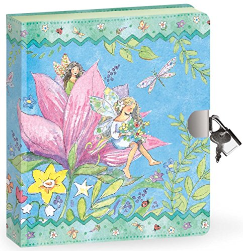 Peaceable Kingdom / Fairy World Lock & Key Diary front-570059