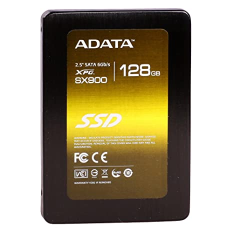 ADATA XPG SX900 SandForce SATA III 2.5 Inch Solid State Drive, 128 GB at amazon