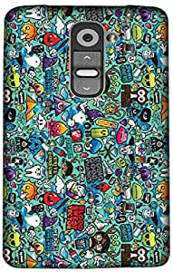 Timpax Light Weight Hard Back Case Cover Printed Design : Abstract design.100% Compatible with LG G2 mini ( D618 )