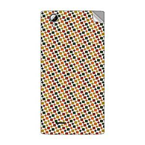 Garmor Designer Mobile Skin Sticker For XOLO A600 - Mobile Sticker