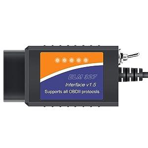 Forscan ELM327 Scanner OBD2 USB ELMconfig FoCCCus Diagnostic