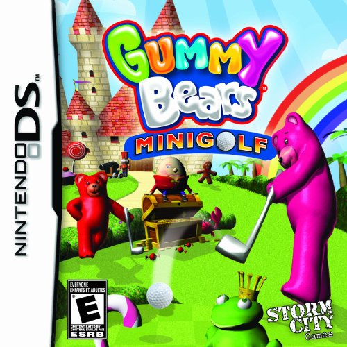 Gummy Bears Mini Golf - Nintendo DS - 1