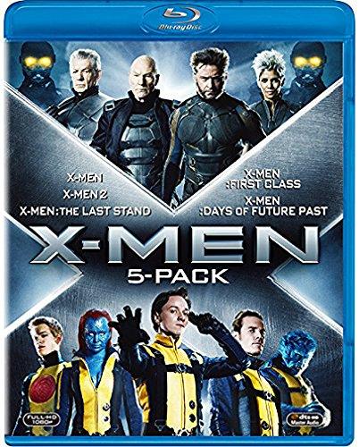 X-MEN �֥롼�쥤BOX(5����)��X-MEN���ե塼���㡼���ѥ��ȡټ�Ͽ(�����������) [Blu-ray]