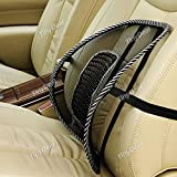 Car Seat Chair Massage Back Lumbar Support Mesh Ventilate Cushion Pad RTH-320544