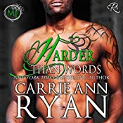 Harder than Words: Montgomery Ink, Book 3 | Carrie Ann Ryan