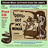 Classic Blues Artwork from the 1920's 2006 Calendar