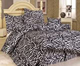 Zebra Twin Bed Set