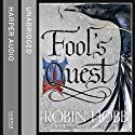 Fool's Quest: Fitz and the Fool, Book 2 Audiobook by Robin Hobb Narrated by Lee Maxwell-Simpson, Avita Jay