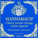 Hannabach 652537 Série 815 Cordes pour Guitare Classique Tension Forte Silver Special
