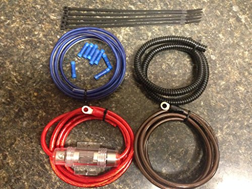 Harley Davidson amplifier wiring kit for PBR300x2 PBR300x4 Rockford Soundstream kicker and all others
