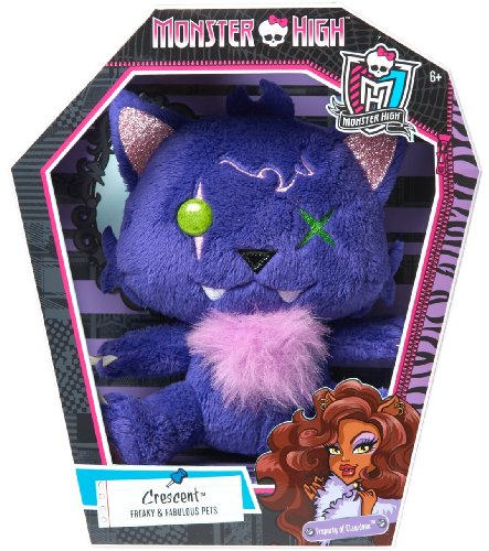 Monster High Pet Friend Crescent Bean Plush