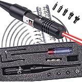 CVLIFE .22 to .50 Caliber Rifle Gauge Boresight Red Dot Laser Boresighter Bore Sighter