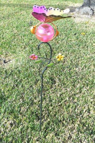 Butterfly Metal Art Decor Solar Powered Garden Light