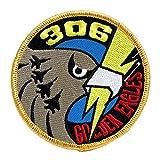 ワッペン 航空自衛隊 小松基地 第6航空団 第306飛行隊 GOLDEN EAGLE