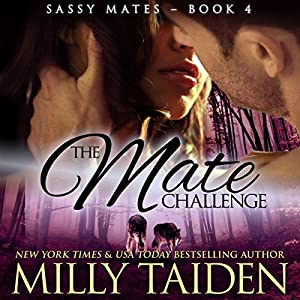 The Mate Challenge: BBW Paranormal Shape Shifter Romance Audiobook