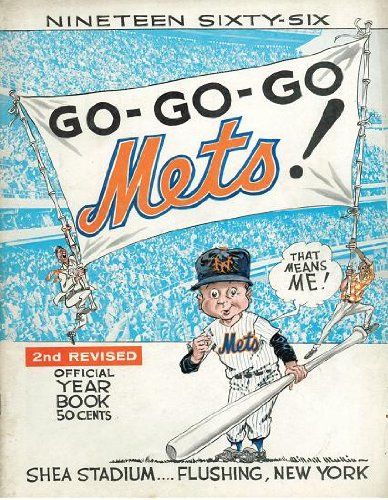 1966 New York Mets Official Yearbook 2nd Revised Edition at Amazon.com