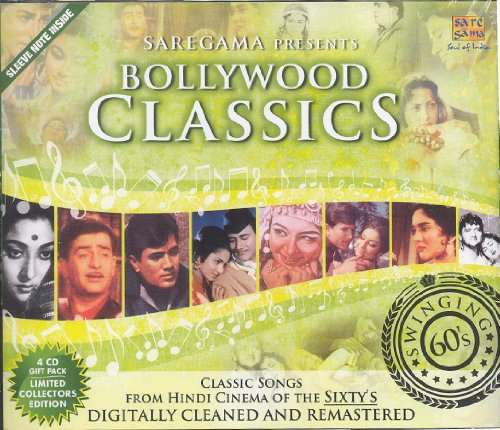Bollywood Classics - Swinging 60's (67 Classic Songs from Hindi Films / Bollywood Movies / Indian Cinema) [4 CD Gift Pack]