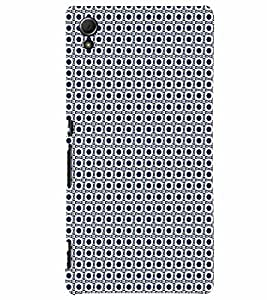 PrintVisa Corporate Print & Pattern Art 3D Hard Polycarbonate Designer Back Case Cover for Sony Xperia Z4