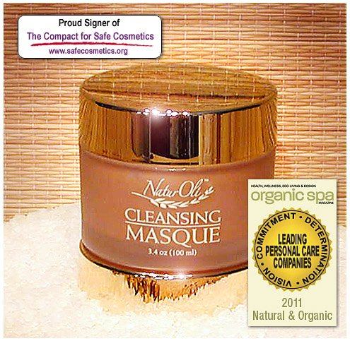 NaturOli Instensive Cleansing Masque - 3.4 oz. Hands down, this is one of the most potent, deep cleaning and highly effective facial masques on the market today! And it's 100% natural! - Made in USA!