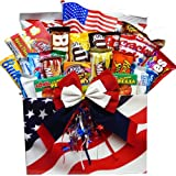 Art of Appreciation Gift Baskets All American Snacker Candy and Junk Food Box