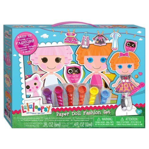 Lalaloopsy Paper Doll Fashion Set - 1