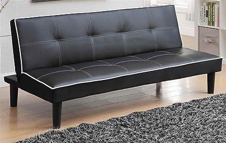 Contemporary Sofa Bed in Black