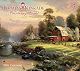 img - for Thomas Kinkade Painter of Light 2016 Deluxe Wall Calendar book / textbook / text book
