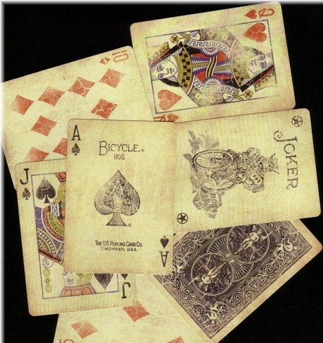 Bicycle 1800 Vintage Series Playing Cards 2 Deck Set by Ellusionist 0