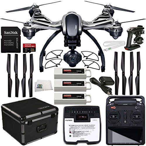 YUNEEC-Q500-4K-Typhoon-Quadcopter-with-CGO3-GB-Camera-Bundle-with-Accessories-21-Items