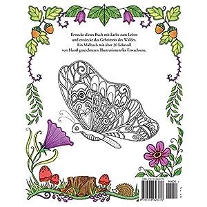 Das Geheimnis des Waldes: Suche die verborgenen Schmuckstücke. Ein Ausmalbuch für Erwachsene