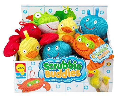 ALEX Toys Rub a Dub Scrubbie Buddies - 1