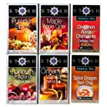 View larger  Fall for Autumn Tea Assortment Curl up with a book and a cup of one of these autumn flavors!  Decaf Pumpkin Spice: This festive holiday tea imparts the appeal of a tasty pumpkin pie. A delicious blend of naturally decaffeinated blac...
